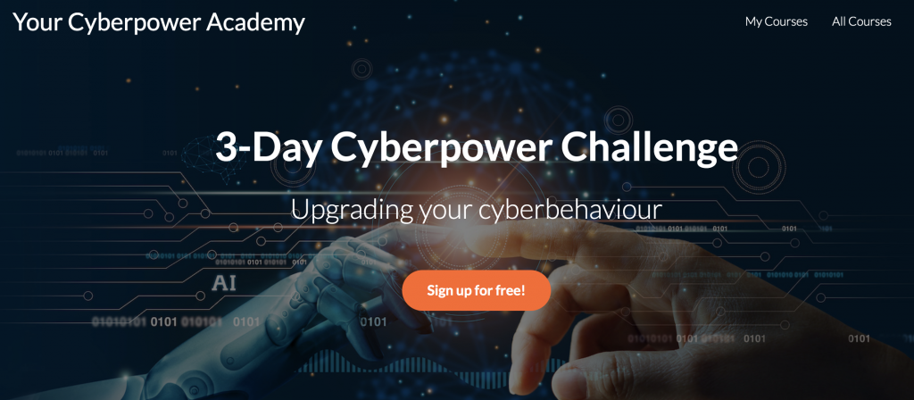 Join the Cyberpower Academy to upgrade your brand identity and brand security.